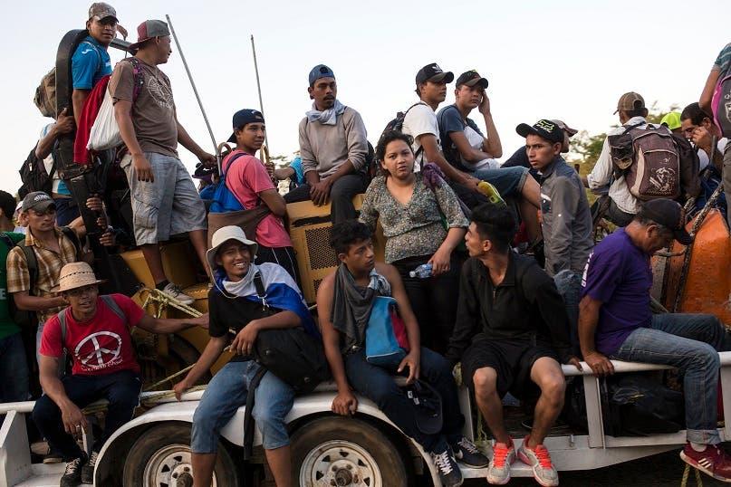 4. El objetivo de los migrantes es llegar a Estados Unidos.