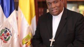 Monseñor Jesús Castro Marte, obispo auxiliar de Santo Domingo Norte.