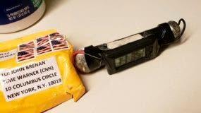 Paquete explosivo dirigido al exjefe de la CIA John Brennan.