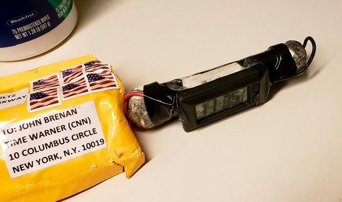 Detenido el principal sospechoso de los envíos de paquetes bomba en EEUU