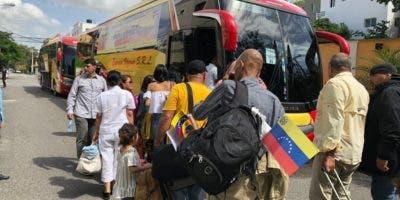 Venezolanos retornan a su país. Fuente externa