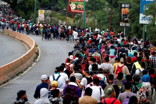 Trump advierte que su Gobierno no aceptará a la caravana de inmigrantes