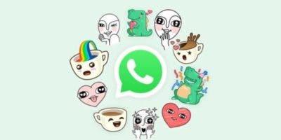 Ahora WhatsApp también tiene stickers.