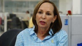 La periodista Altagracia Ortiz dijo que los agentes  se comportaron de manera agresiva.