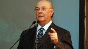 El expresidente Hipólito Mejía.