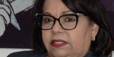 La maestra Emma Polanco, primera mujer rectora  de la UASD.  JOSE DE LEÓN