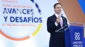 Jean Alain Rodríguez, procurador general de la República.  AGENCIA FOTO