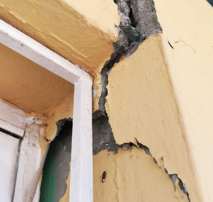 Las fallas estructurales   se detectarán en  horas .  AGENCIA FOTO
