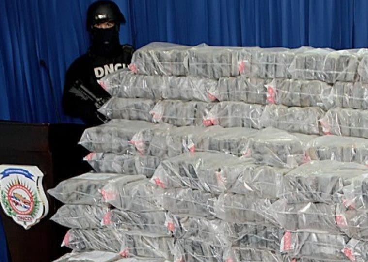 Alijo de  droga incautado en camión a imputado.  Archivo