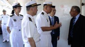 Parte del personal  que integra la  tripulación del  buque.