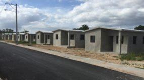 Soluciones habitacionales entregadas a las familias.  AGENCIA