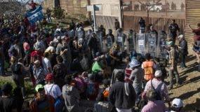 Tijuana se convirtió en la ciudad donde los migrantes tienen mayor tiempo de espera, debido a su condición fronteriza.)