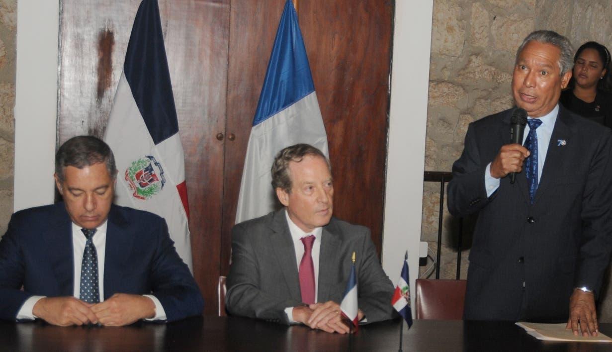 Donald Guerrero, Didier Lopinot e Isidoro Santana. Nicolás Monegro