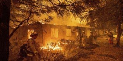 El origen del incendio sigue siendo desconocido .
