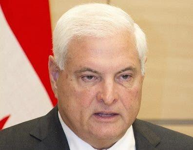 El expresidente Martinelli está detenido desde junio.