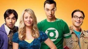 """Parte de los protagonistas de """"The Big Bang Theory""""."""