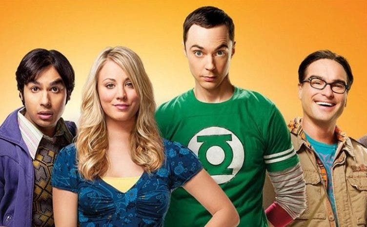 "Parte de los protagonistas de ""The Big Bang Theory""."
