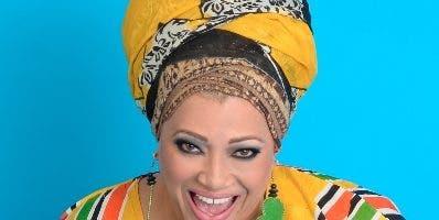La artista de balada Diomari, conocida  como La Mala.