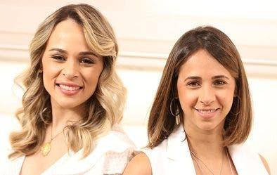 Las hermanas Paloma y Rocío Salcedo.