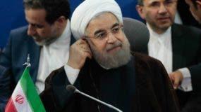 """Hasán Ruhani dice que Irán entra en  """"situación de guerra""""."""