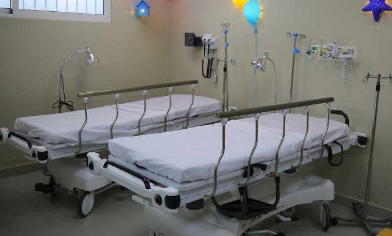 El hospital municipal cuenta con  32 camas.  fuente externa