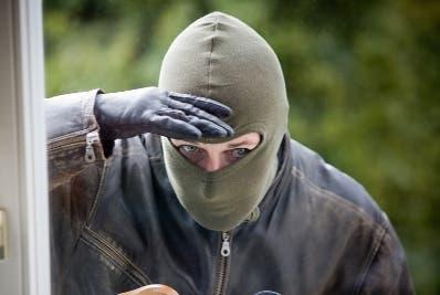 El ladrón fue detenido y trasladado al Ministerio Público.