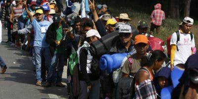 Los migrantes recibieron apoyo de transporte en México.