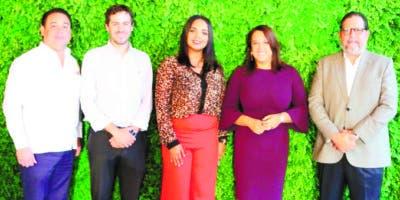 Opinio Álvarez, Carlos Delinares, Franchesca Páez, Isabel Estévez y Alejandro Jovine.