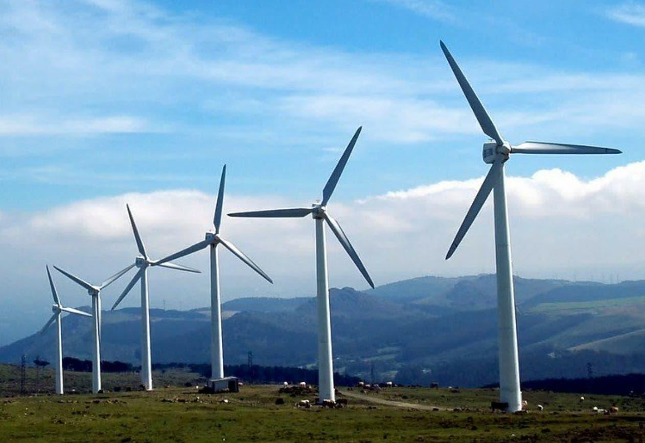 El país tiene capacidad de producir 2,000 megavatios de energía limpia eólica.  Archivo