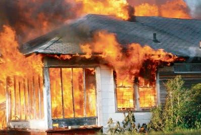 El incendio se llevó al perro y al gato de la casa.