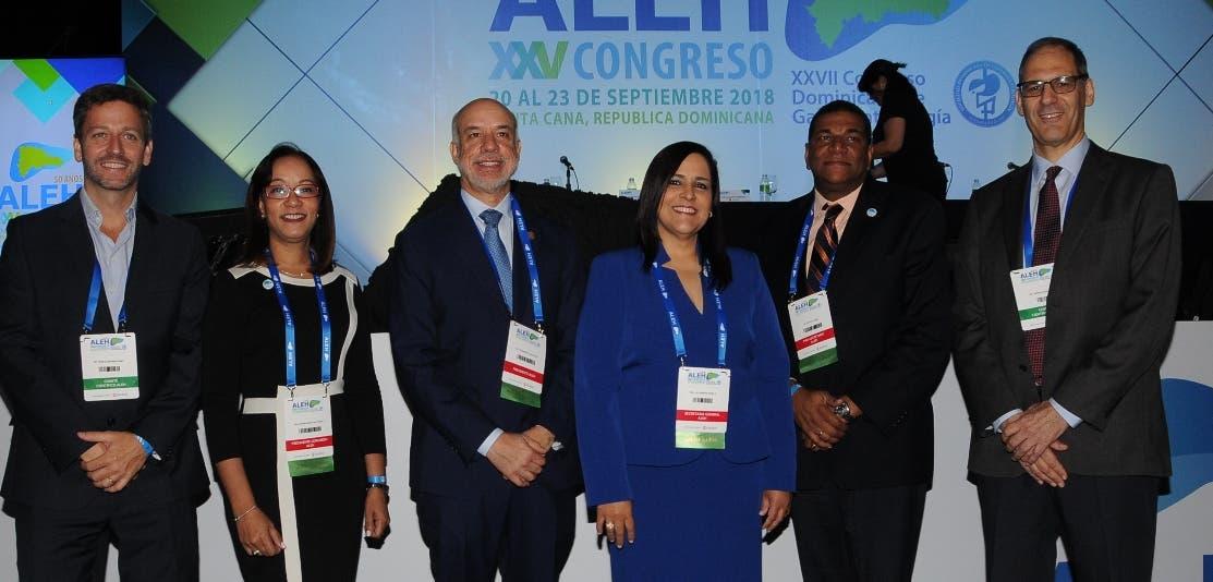 Sebastián Marciano, Marlene Pérez, Fernando Contreras, Alejandra Peña, Pascal Núñez y Adrián Gadano.