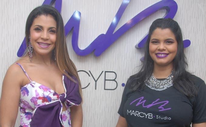 Marcelle Bautista y Nathaly de los Santos.