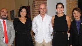 Juan Sánchez, Mariel Pérez, Alejandro Abellán García, María Fernanda Arredondo e Ylonka Nácidit.