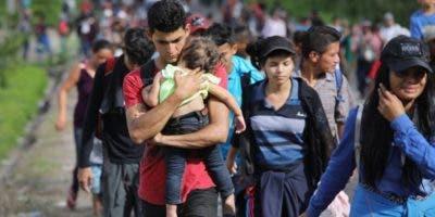 Las autoridades se juegan la estabilidad fronteriza con la llegada de la caravana de migrantes.