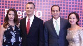 Alejandra Fernández, Homero González, Alejandro Ramírez Cantú y Carolina Villalobos.