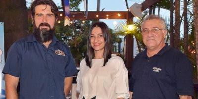 Juan Pablo Méndez, Ana Agelán y Fedor Agelán.