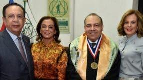Héctor Valdez Albizu, Fior de Valdez, Miguel Reyes Sánchez y Clarissa de la Rocha de Torres.
