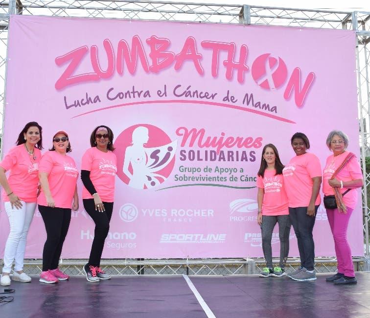 Piroska Peña, Ángela Torres, Luisa Ramírez, Carmen Alba, Claudia Acra y Ana Marte.