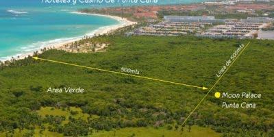El hotel Moon Palace Punta Cana estará ubicado en la playa Macao; el primer picazo será este jueves 22 con la presencia del presidente Medina.  fuente externa
