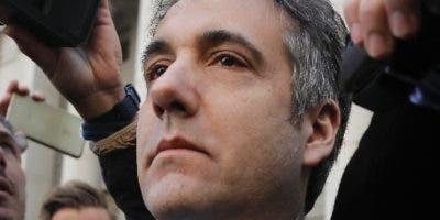 La confesión de Michael Cohen implica a Trump.