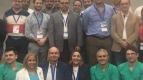 Algunos de los médicos que participaron en el evento.