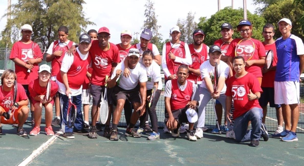 Integrantes de la selección dominicana que está en la justa.