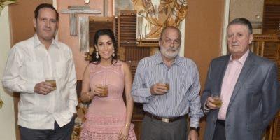 José Antonio Álvarez (Hijo), Carolina Ovalle, Sergio Mourelle y José Antonio Álvarez.
