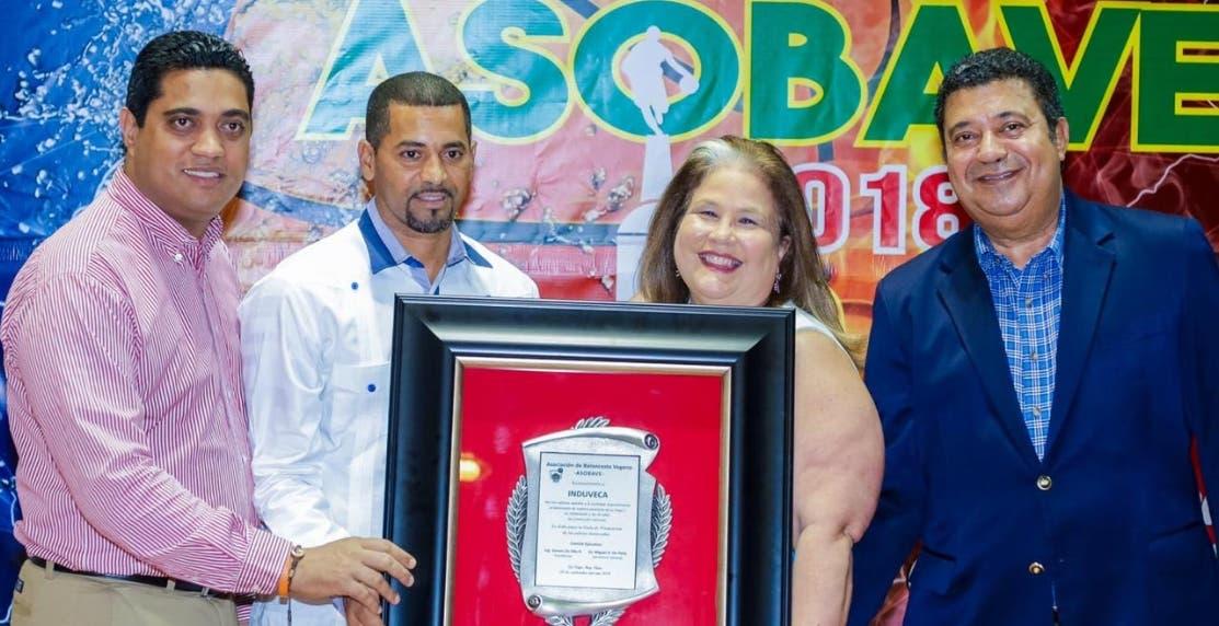 Induveca con distinción en el premio Asobave