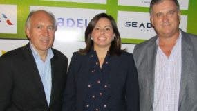 Carlos Alonso,    Ana Santelises y Michael Espino.   EXTERNA