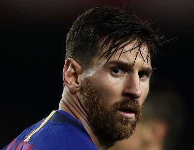 Lionel Messi reapareció ayer con dos goles para Barsa.  aP
