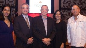 Claudia Montás, José Florentino, Sergio Forcadell, Rossanna Camarena y Carlos Azar.
