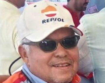 Adriano Abreu, gran piloto dominicano.  ARCHIVO