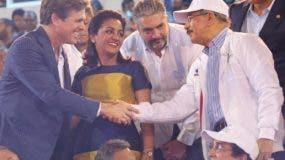 El presidente Danilo Medina y la Primera Dama encabezan la inauguración. Ana Mármol