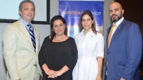 Antón Tejada, Laura Lewin, Aileen Mella y Rubén Pagán.